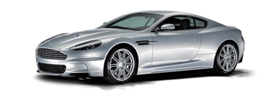 Aston Martin automotive car with aluminium chassis components